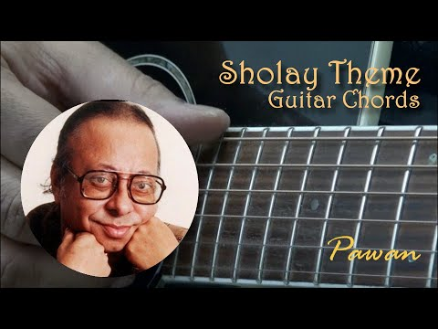 Sholay Theme - Guitar Chords Lesson by Pawan