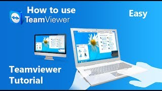 How to use Team Viewer 2020