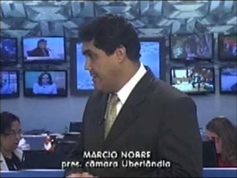 Entrevista com o presidente da Câmara, vereador Márcio Nobre - Ao Vivo