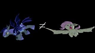 Speed Run: Bat Ponies vs. Vampire Ponies