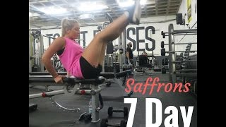 "Download Lagu Saffrons 7 Day ""Get Fit""  Challenge Gratis STAFABAND"