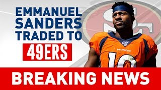 49ers WILL MAKE SUPER BOWL after Emmanuel Sanders Trade, Fantasy Football Impact | CBS Sports HQ