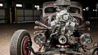 "Best Rat Rods: ""Back to the Fifties"""
