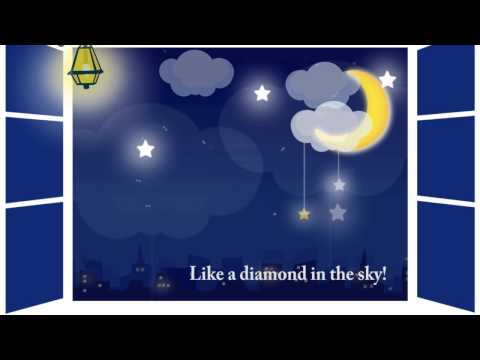 Twinlke, twinkle, little star. Колыбельная. Английские песни для детей. Наше всё!