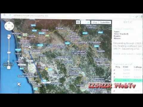 IZ5RZR   How to receive Ads b with RTL2832 and Virtual Radar