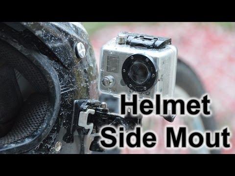 Helmet Side Mount ▶ Helmet Side Mount Gopro