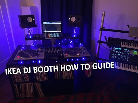 How To Build A DJ Booth With IKEA Parts