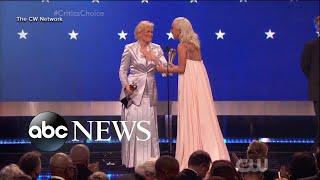 Lady Gaga Glenn Close Tie For Top Prize At Critics Choice Awards