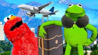Kermit the Frog and Elmo's Worst Vacation EVER!