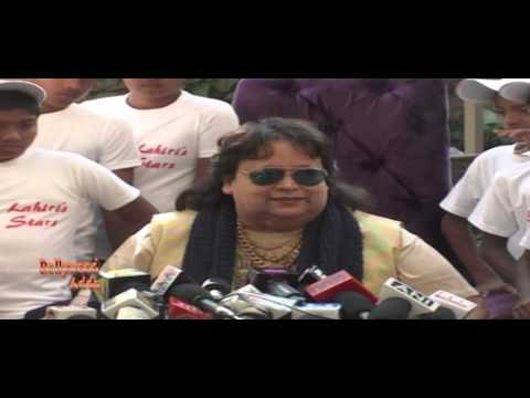 Bappi Lahiri | Unveils Album | Slumstars With Slum Singers From Mumbai