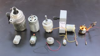 10 useful things from DC motor fly test