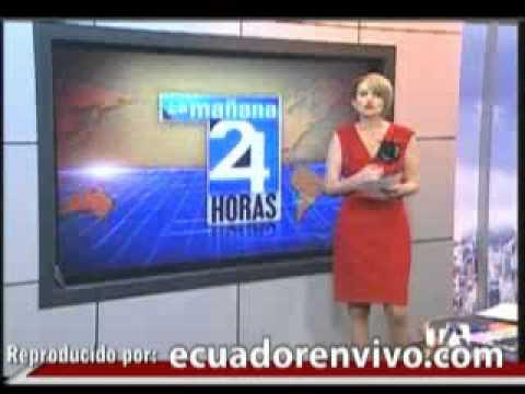 Video Sin Editar Cuando Correa Insulta A Periodista Hinostroza Y La