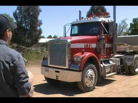 Pre-trip inspection walk around for CDL part 1