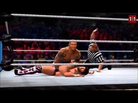WWE 13 MACHINIMA - WWE Summerslam 2013 John Cena vs Daniel Bryan