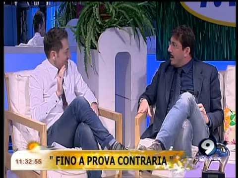 """Ciro Villano annuncia le riprese del film """"Fino a prova contraria"""" – Studio Mattina 24/04/13"""