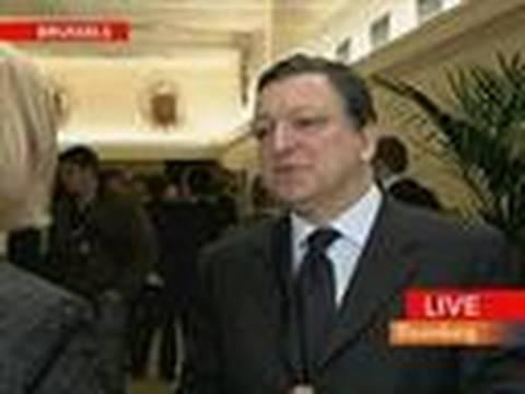 Barroso Says Investors Understand `Determination of EU
