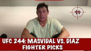 UFC 244: Jorge Masvidal vs. Nate Diaz Fighter Picks