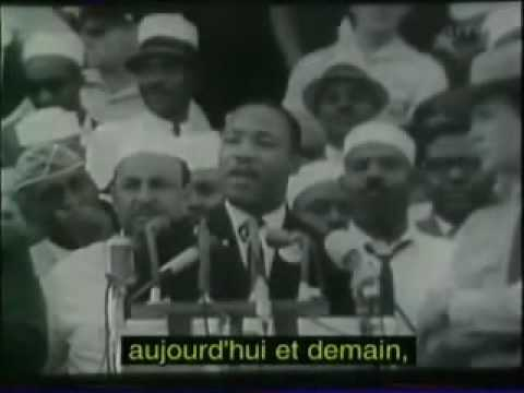 Martin Luther King I Have A Dream (sous-titres Français). video