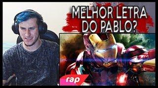 REACT Rap do Homem de Ferro - I AM IRON MAN   NERD HITS (7 Minutoz)