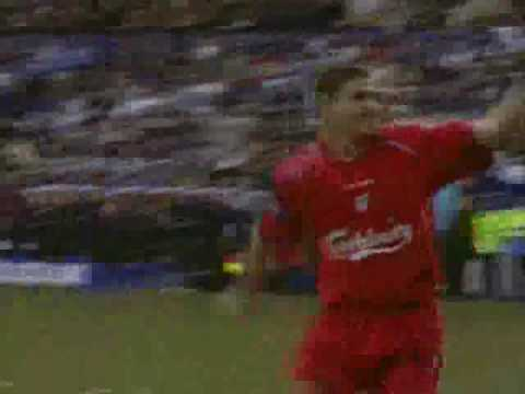Steven Gerrard Finale Video