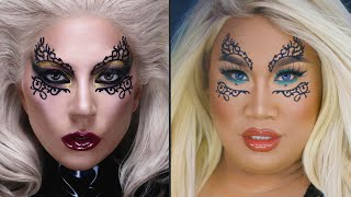 LADY GAGA TRANSFORMATION USING HAUS LABS | PatrickStarrr