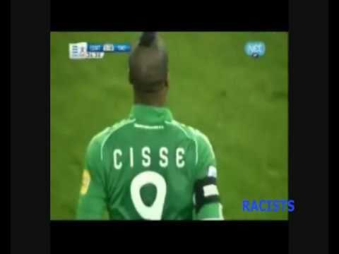 The racist assault against Djibril Cissé by Olympiakos fans