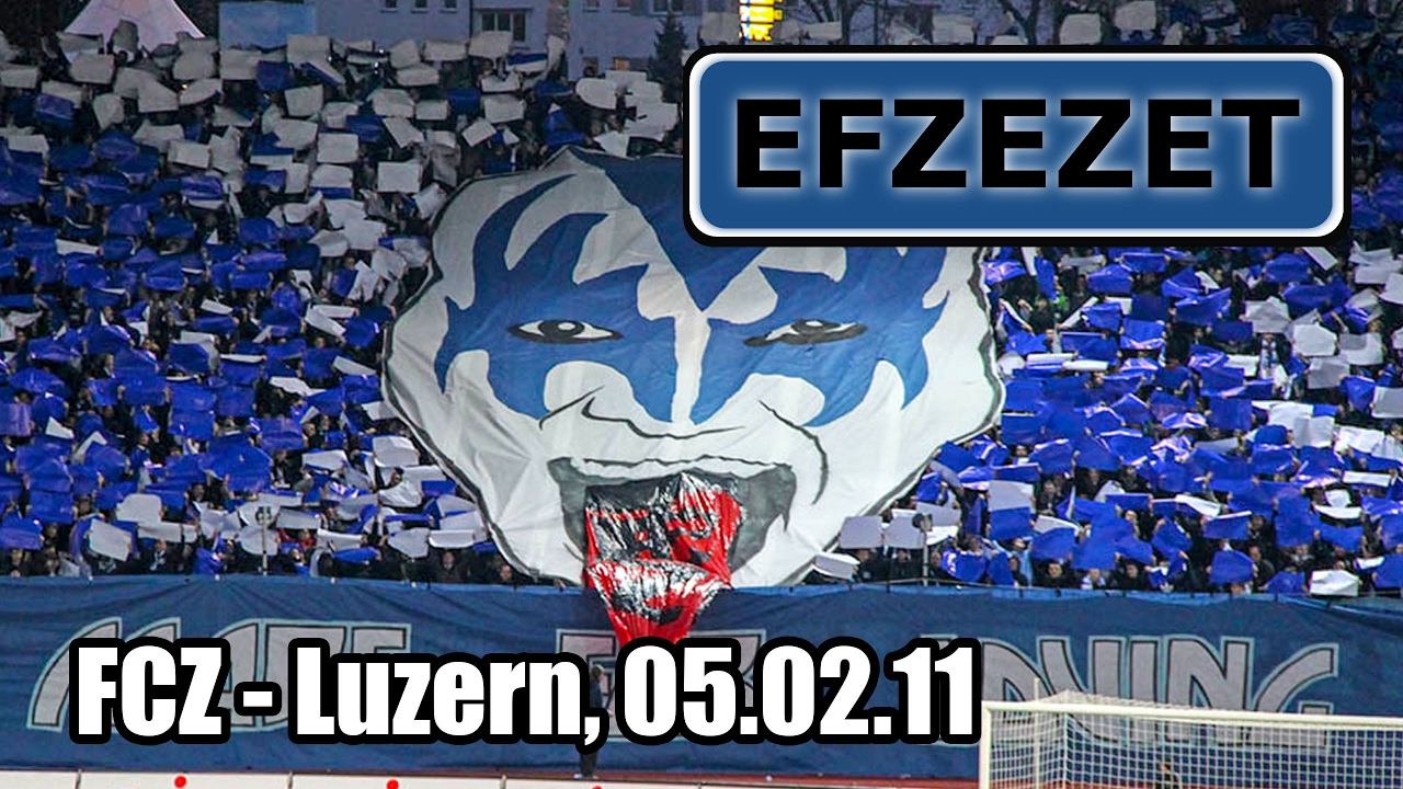 FCZ - Luzern, KISS - I was made for loving you - YouTube