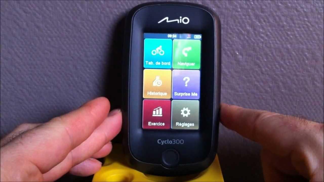 sängar mio test ~ test du mio cyclo300  youtube