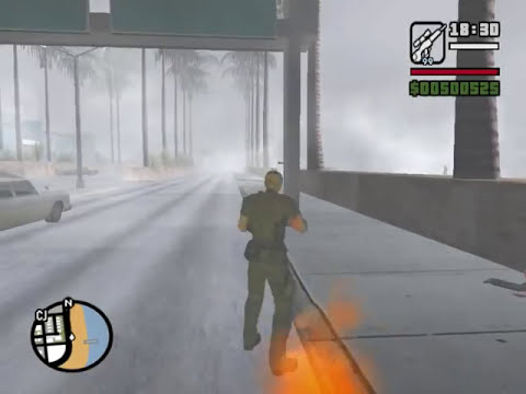 GTA San Andreas - Resident Evil 4 - The Mercenaries