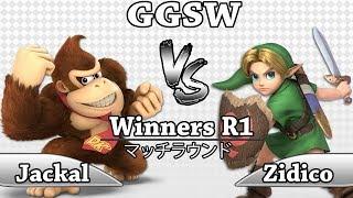GGSW 131 - Jackal (Donkey Kong) Vs Zidico (Y.Link) Smash Ultimate Winners R1