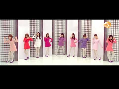 SNSD(少女時代) - Hahaha Song (Dance Lesson)