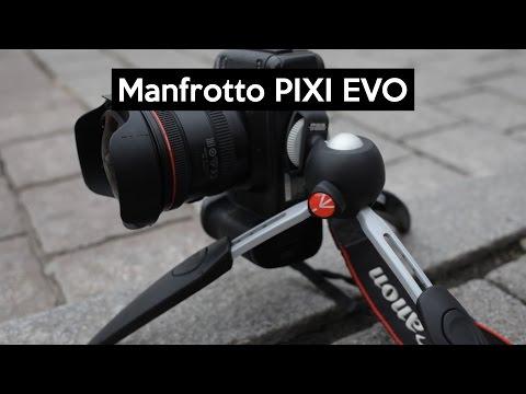 Manfrotto PIXI EVO | THE VLOGGING TRIPOD