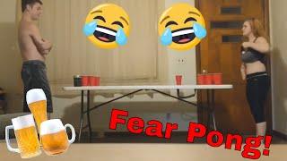 Couple Plays Fear Pong! (BfvsGf)