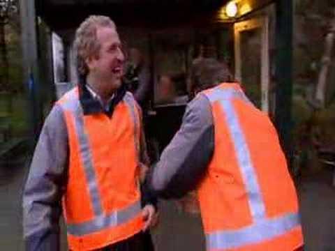 Joling en Gordon over de vloer - Huttenheugte