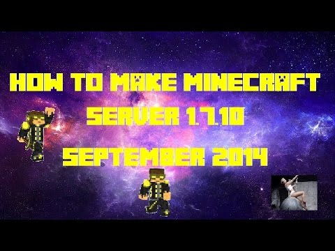 How to make a minecraft server 1.7.10 (BUKKIT) (MEDIAFIRE) (SEPTEMBER 2014)
