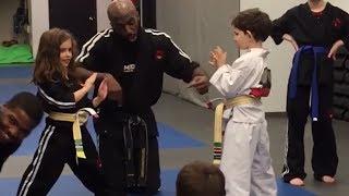 Funny Karate kids fails
