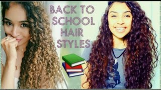Five Days, Five Hairstyles | Collab with CURLY PENNY
