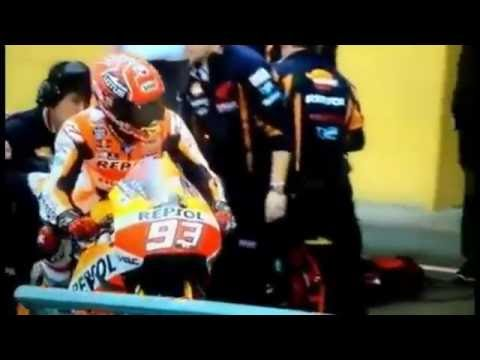 Moto gp Marc Marquez Breaking the Rules at Bike Swap