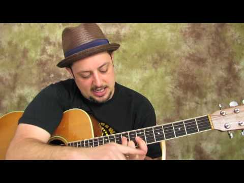Free Guitar Lessons - How To Play Acoustic Guitar - Easy Chords And Embellishments