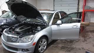 Parting out a 2008 Mercedes C300 parts car - 180424 - Tom's Foreign Auto Parts