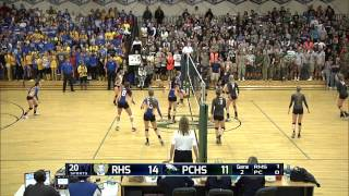 Pine Creek vs Rampart volleyball full broadcast