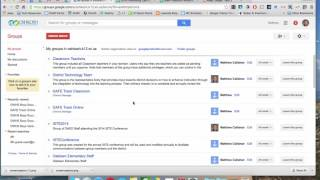 Google Groups Overview