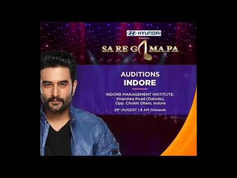 Indore Audition 2018 Saregamapa, date & Venues Detail here