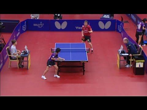 Table Tennis Safir Open 2015 - Jens Lundqvist Vs Tomokazu Harimoto - (1/2 Final)
