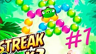 Angry Birds POP Bubble Shooter #1.Играем в Angry Birds POP.