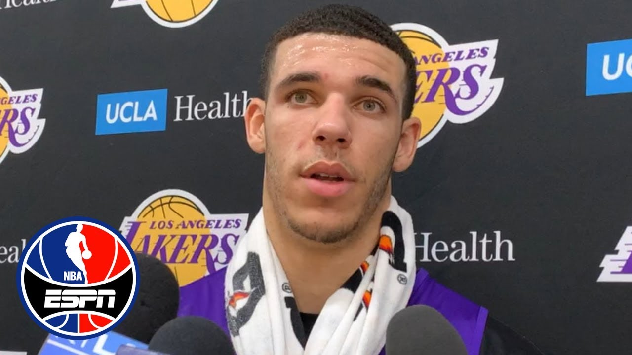 Lonzo on loss of Rondo: 'He's a leader...we're gonna miss him'   NBA on ESPN