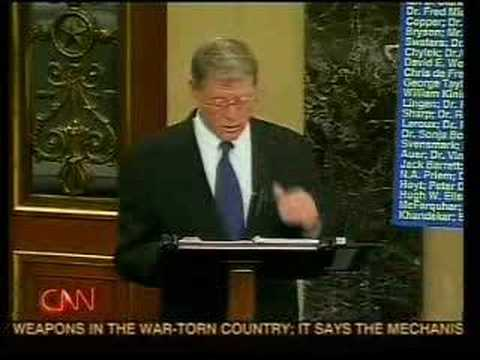 James Inhofe vs Anderson Cooper