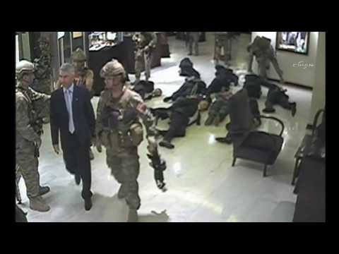 Turkey's military launched coup cctv camera image