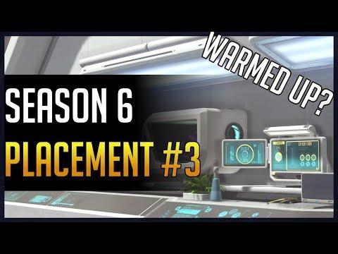 [Overwatch] Kephrii - Season 6 - Placement #3 (Ft. Kragiee & Poke)