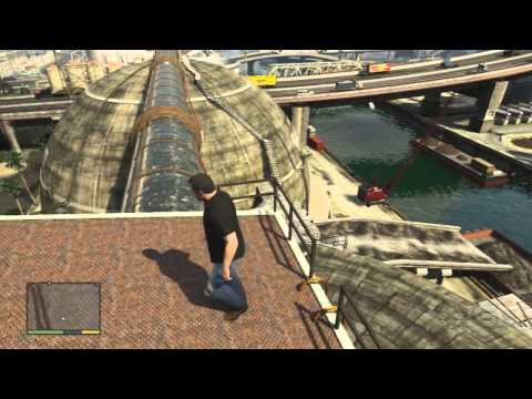 GTA 5 Walkthrough - Collectible: Spaceship Parts